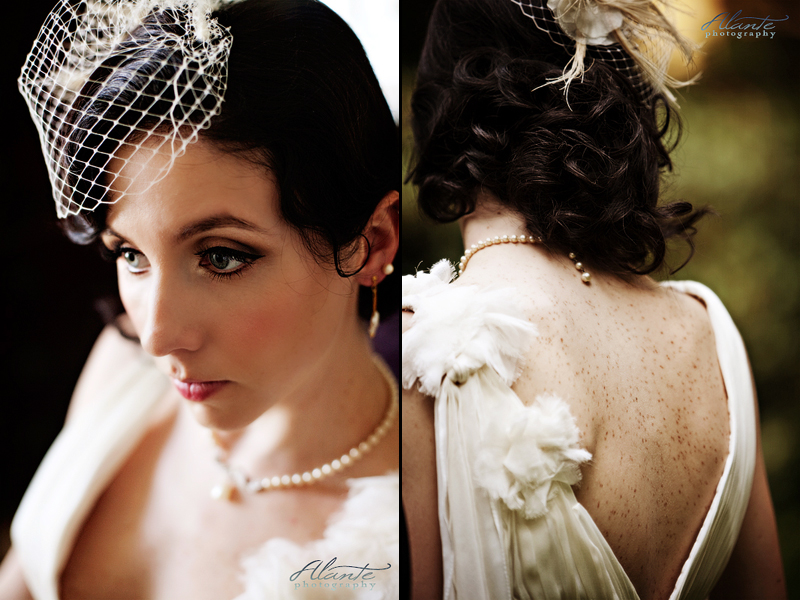 1920s hair and makeup. Hair: Gene Juarez Makeup:
