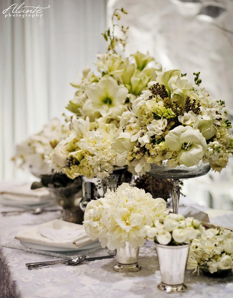 Wedding hairstyles white wedding for All white wedding decoration ideas