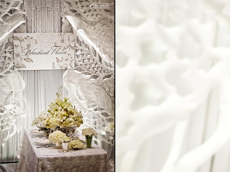 white wedding flowers ideas. White Wedding Table Ideas